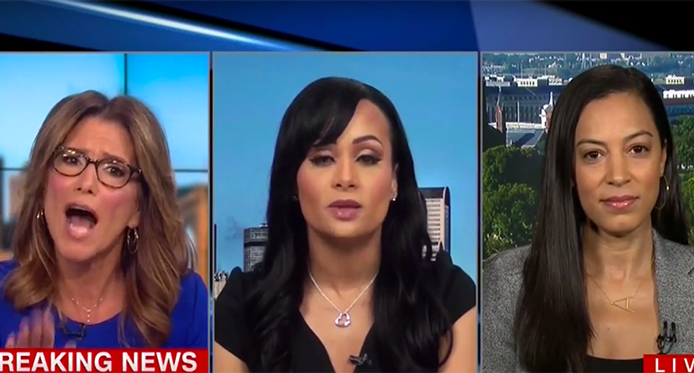 Katrina Pierson's CNN interview spirals into chaos when she defends Trump by blaming hip-hop for rape
