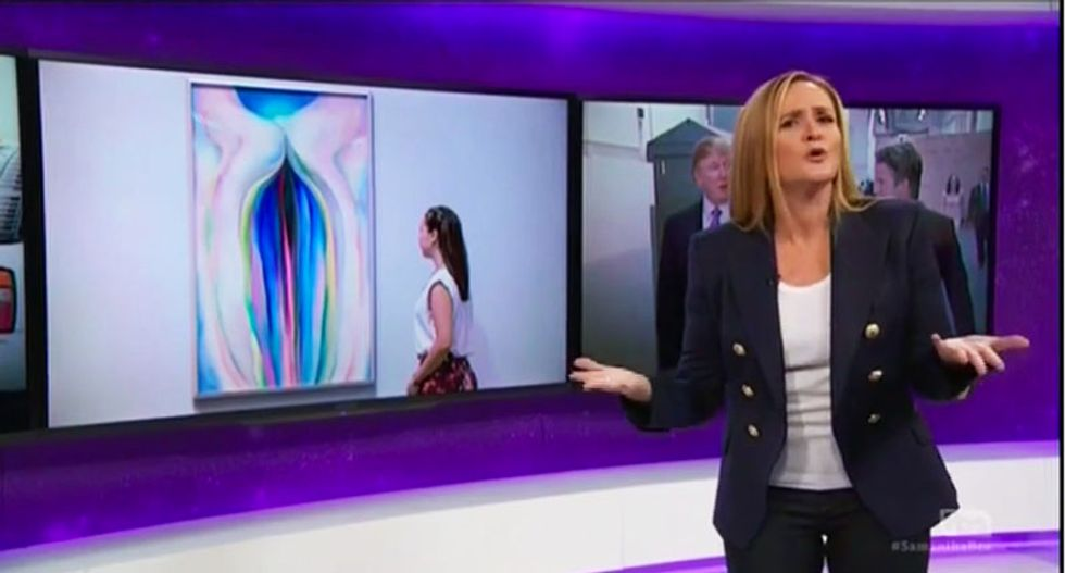 Samantha Bee's 'vagina monologue' is the best line-by-line Trump non-apology takedown you're going to see