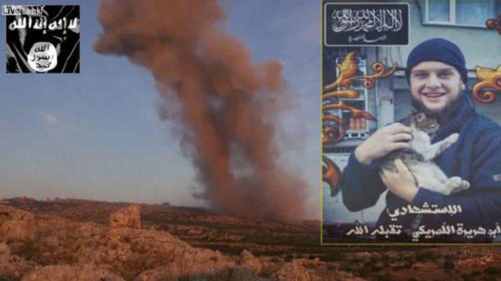 Al Qaeda releases video of American suicide bomber in Syria