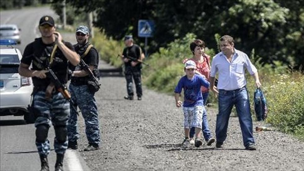 Seaside resorts turn into refugee camps for Ukrainians escaping conflict