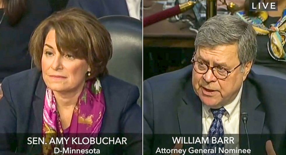 AG nominee William Barr: Trump administration can jail reporters who 'hurt the country'