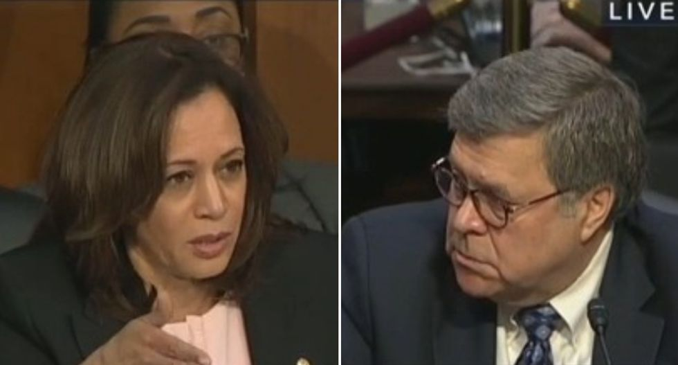 Bill Barr appears to be targeting Trump's opponents — and senate Dems want an investigation