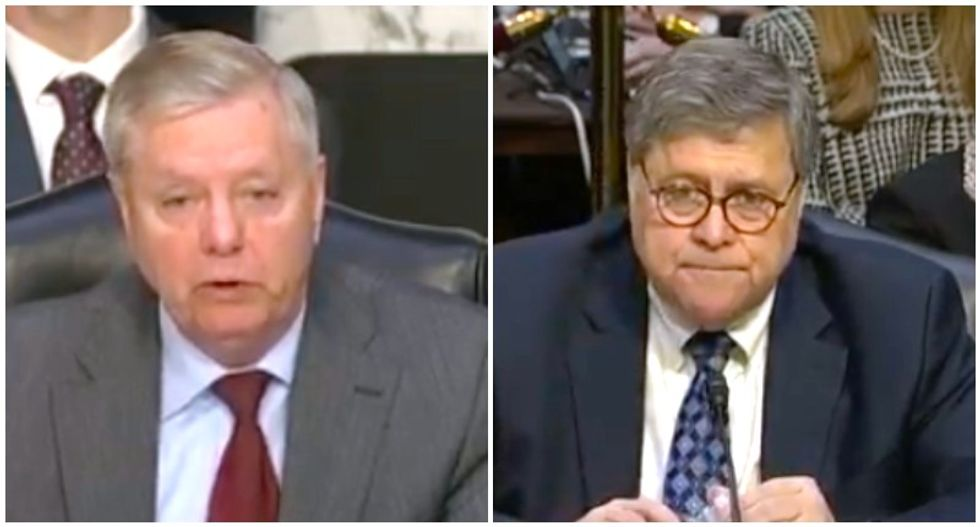 'Clean this place up': Lindsey Graham urges Trump nominee Bill Barr to wage war on FBI