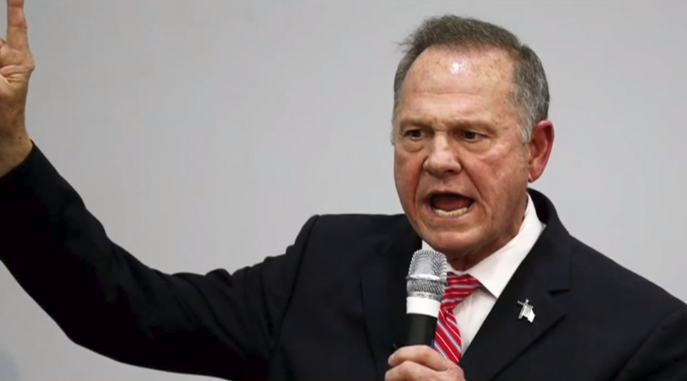 Alabama ex-cop says she was tasked with keeping Roy Moore away from cheerleaders at high school games