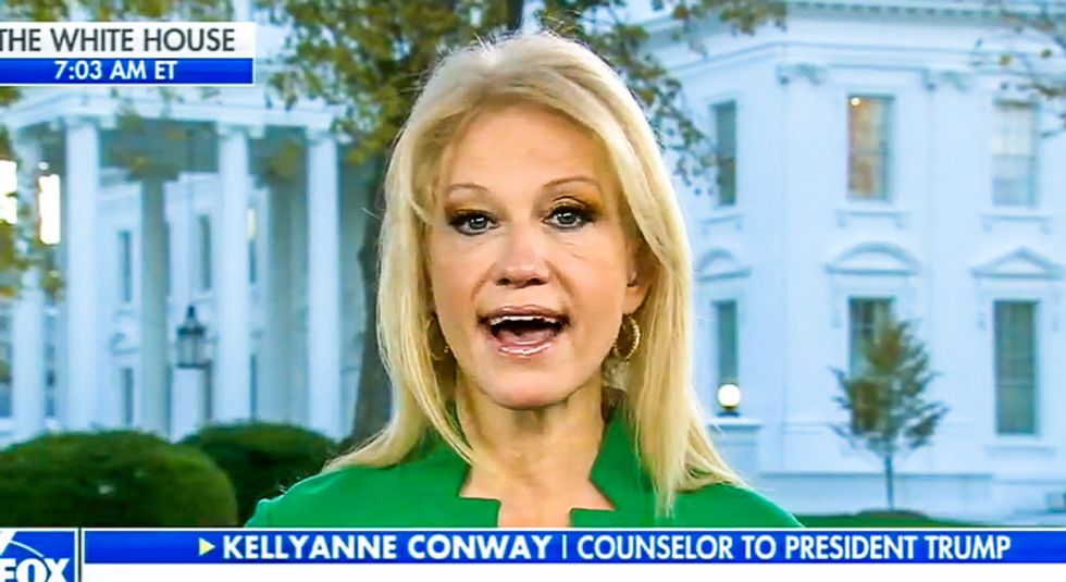 Kellyanne Conway says Melania Trump is 'superior' to Michelle Obama