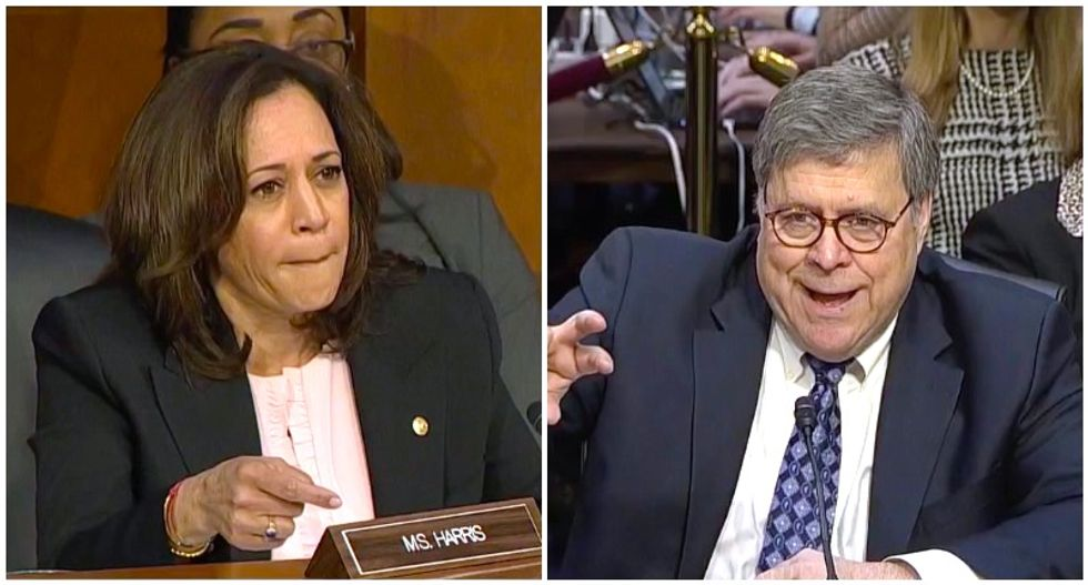 Trump nominee Bill Barr made a revealing 'tell' to Kamala Harris about his impartiality: Ex-DOJ official