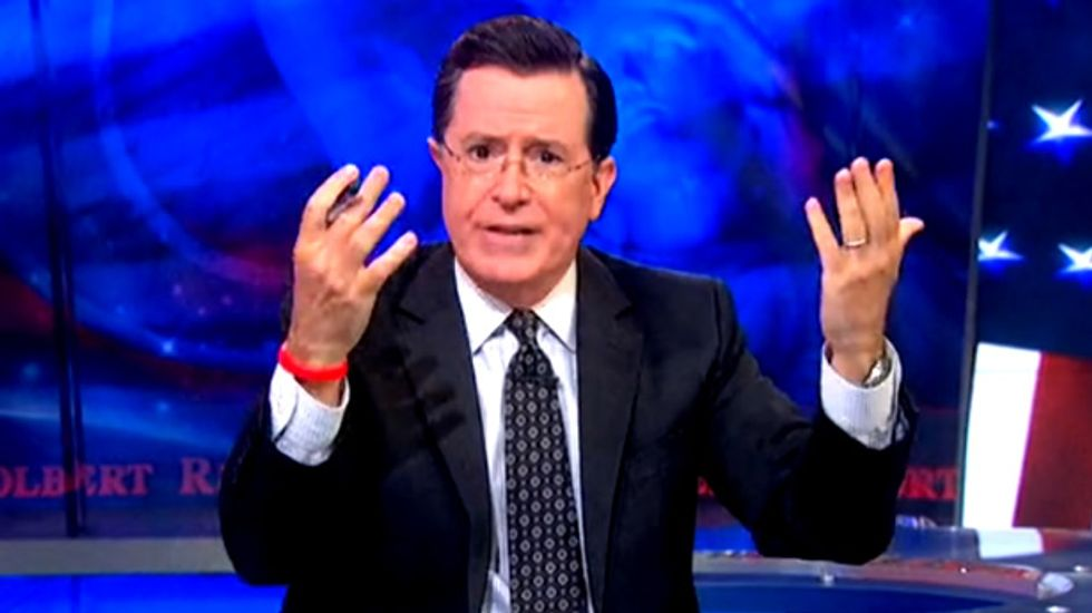Stephen Colbert rips corporations that flee US taxes and Fox News pundits who defend them