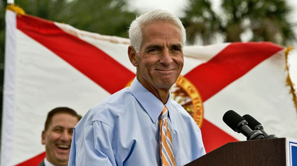 In Florida governor's race, Democrat Charlie Crist woos crucial black vote