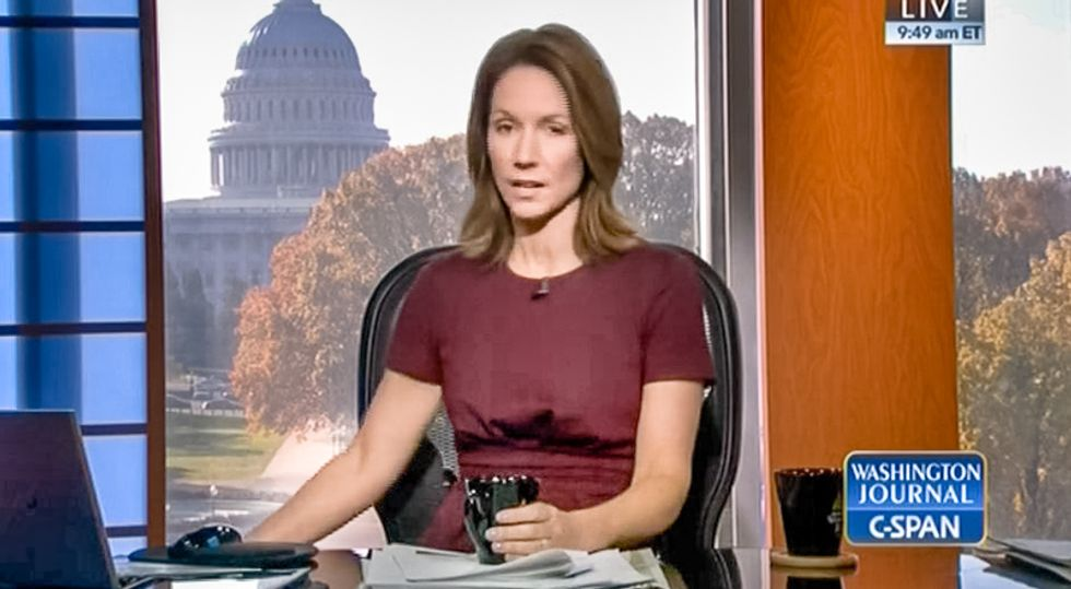 C-SPAN caller says global warming is sign of 'the rapture': God is heating Earth to punish 'people left behind'
