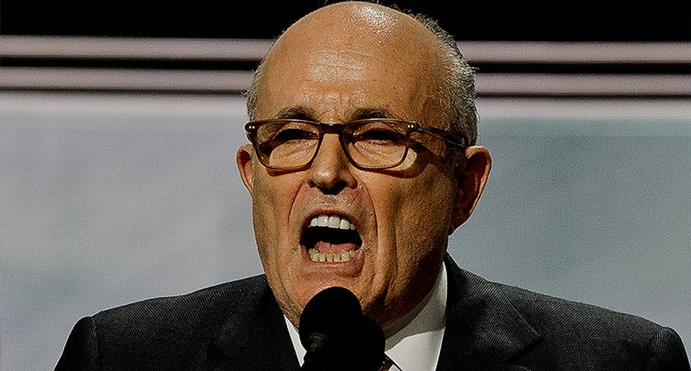 Trump lawyer Rudy Giuliani is moonlighting as an Iran-basher in Poland — and maybe making money from it
