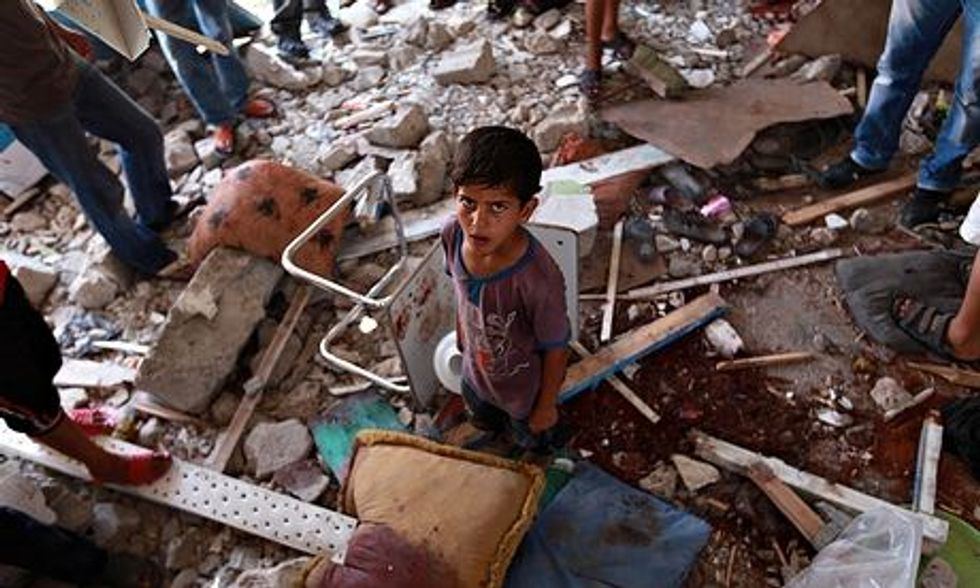 Israel pounds Gaza as mediators try to rescue truce