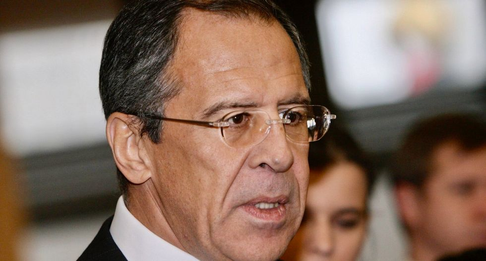 Russia's Lavrov says US sanctions on Venezuela oil company illegal