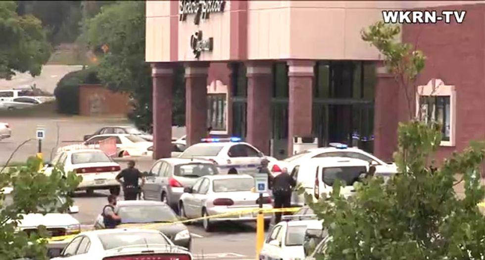 WATCH: Dozens of shots heard as police respond to hatchet attack at Nashville theater