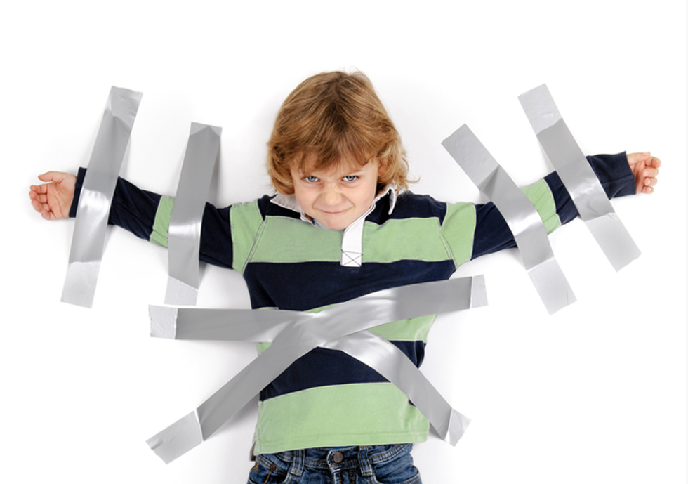 Texas day care facing investigation over photos of toddlers held down with duct tape