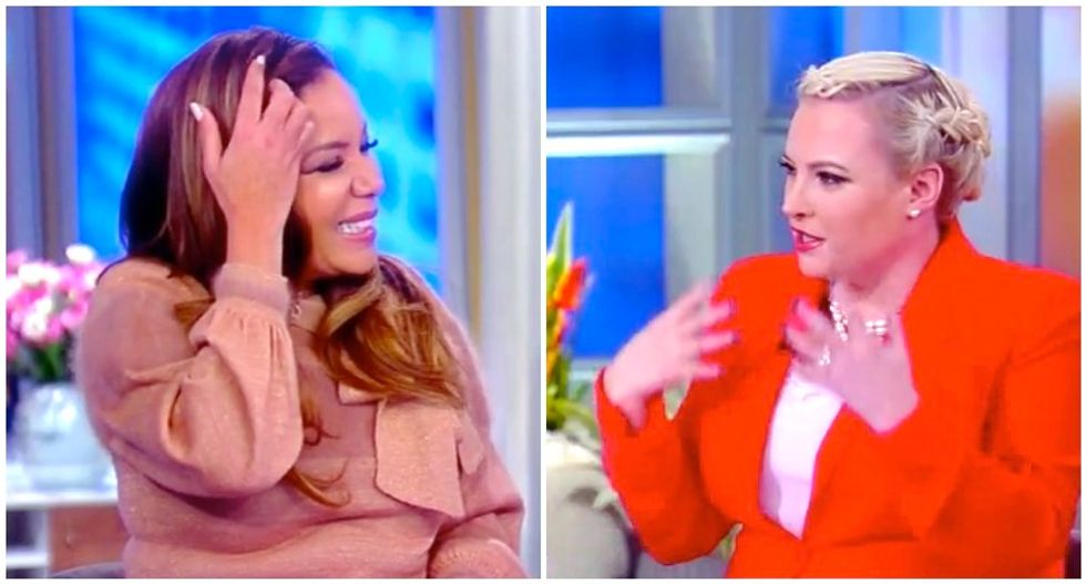 The View ridicules 'show pony' Rudy Giuliani for 'getting tripped up with all the lies'