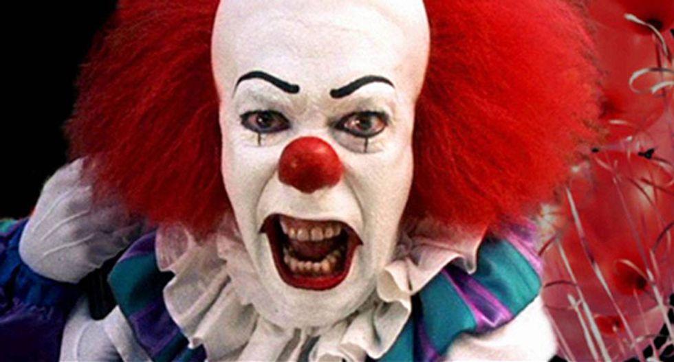 Carolina clown sightings scare me, says horror master Stephen King