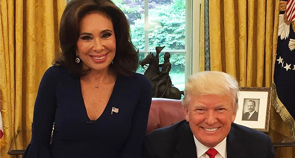 Federal workers say 'we don't care' about not getting paid -- Trump tells Fox News host Jeanine Pirro