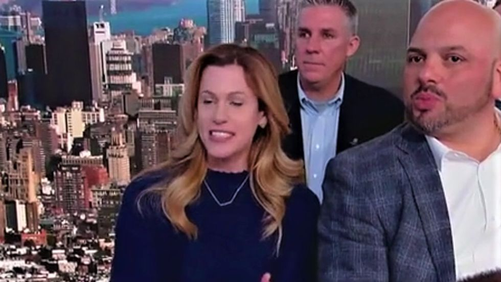 Trump supporter short circuits after Fox & Friends tells her the president is losing the shutdown fight