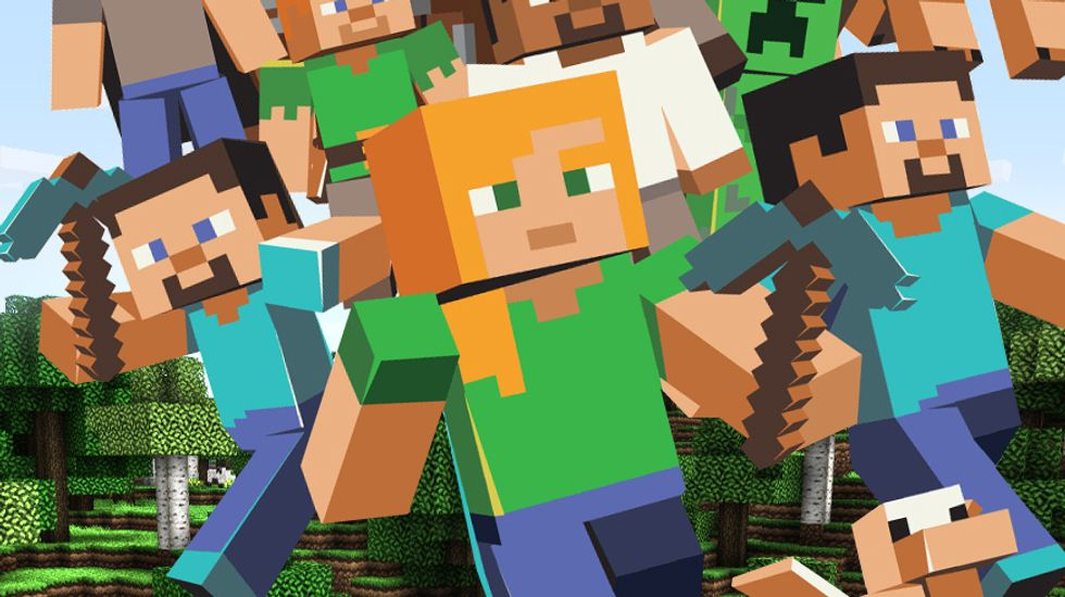 How Minecraft has bewitched 40 million of us worldwide