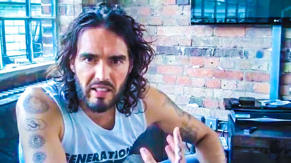 Russell Brand: Fox News is 'fanatical, terrorist, propagandist' and 'more dangerous than ISIS'