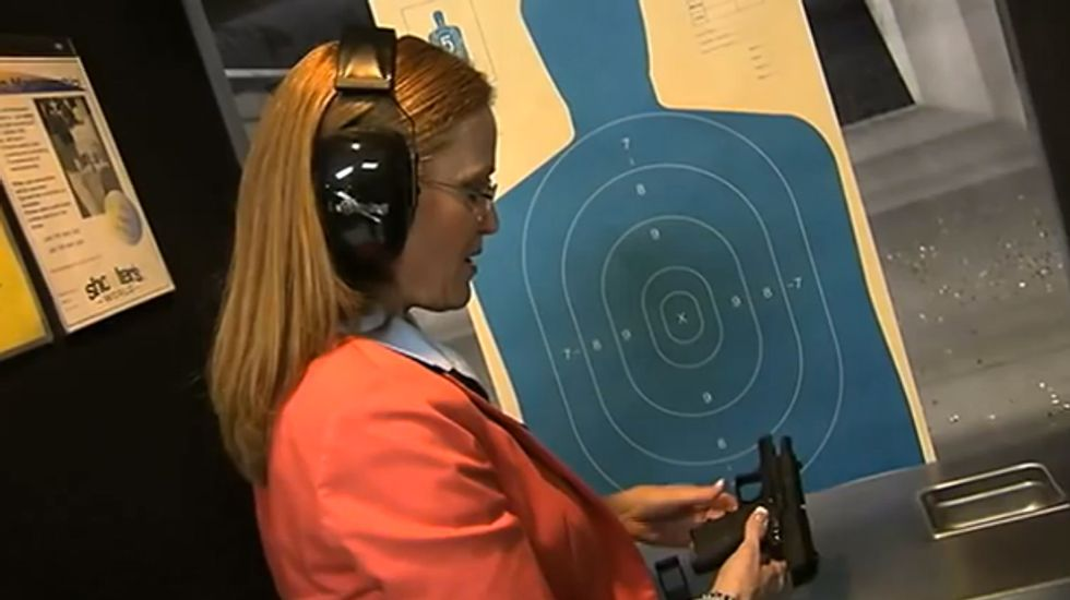 AZ gov candidate: I practice shooting with my eyes closed in case I'm 'attacked in the night'