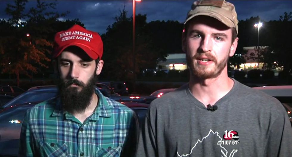 WATCH: Armed Trump supporter menaces Virginia Democratic campaign office for 12 hours