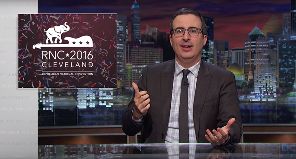 John Oliver: GOP's 'mismanaged sh*tshow' substituted feelings for facts to create terrifying reality