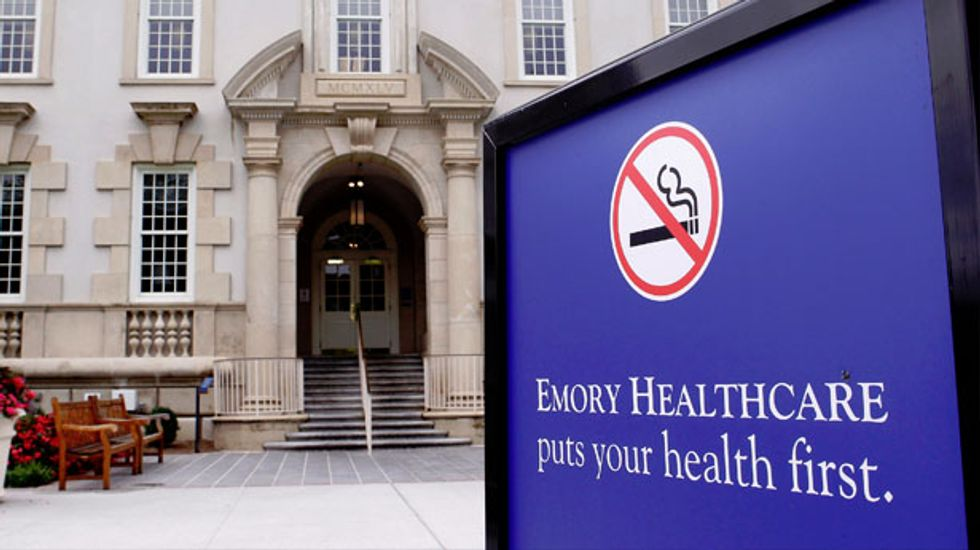 Second Ebola patient arrives at Emory University Hospital in Atlanta for treatment