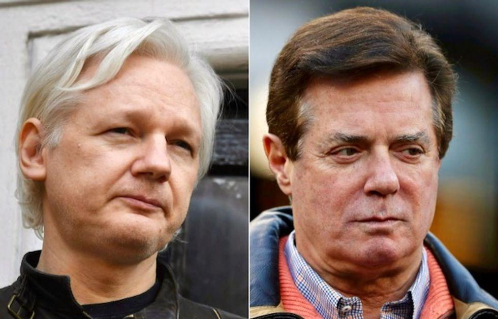 Secret talks with Manafort?: US officials to ask Ecuador embassy staff about Assange visitors