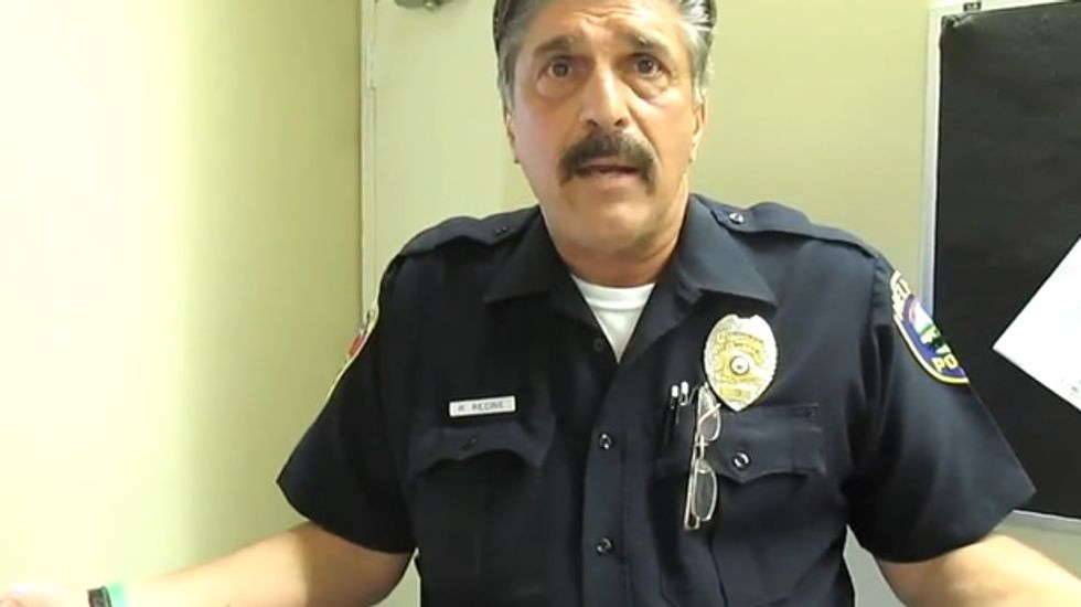 Watch NJ cop go rogue: Since Obama 'doesn't follow Constitution, we don't have to'