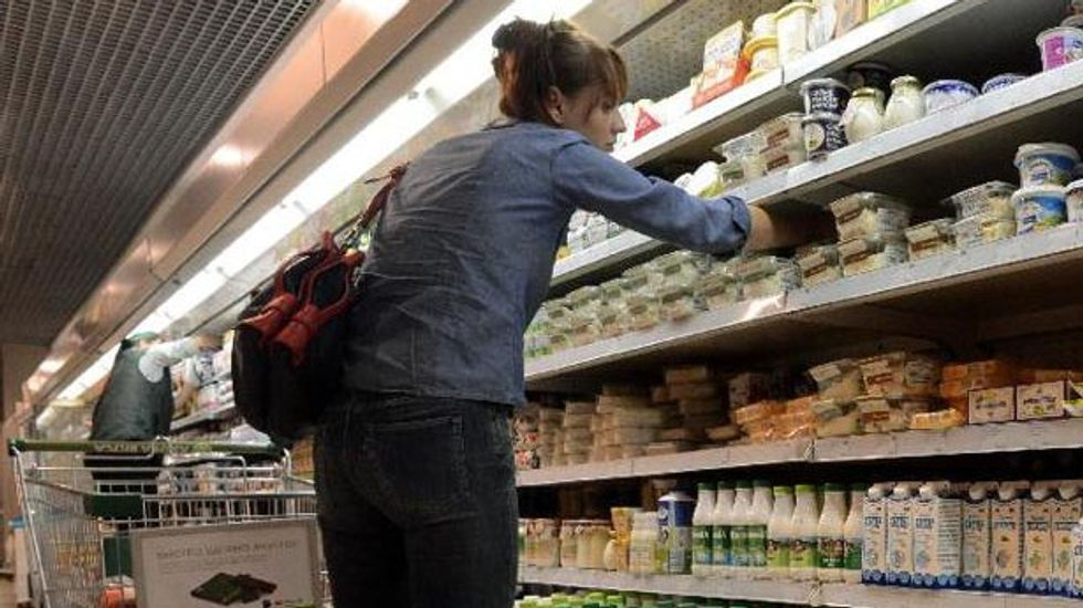 Russia announces 'full embargo' on most food from US, EU