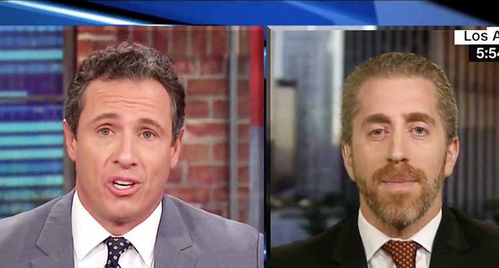 Chris Cuomo destroys Breitbart editor who tried to excuse Roy Moore's behavior with Ringo Starr lyrics