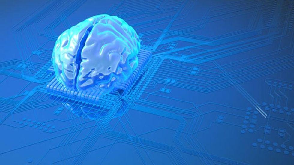 Postage-stamp size 'neurosynaptic' computer chip mimics the human brain