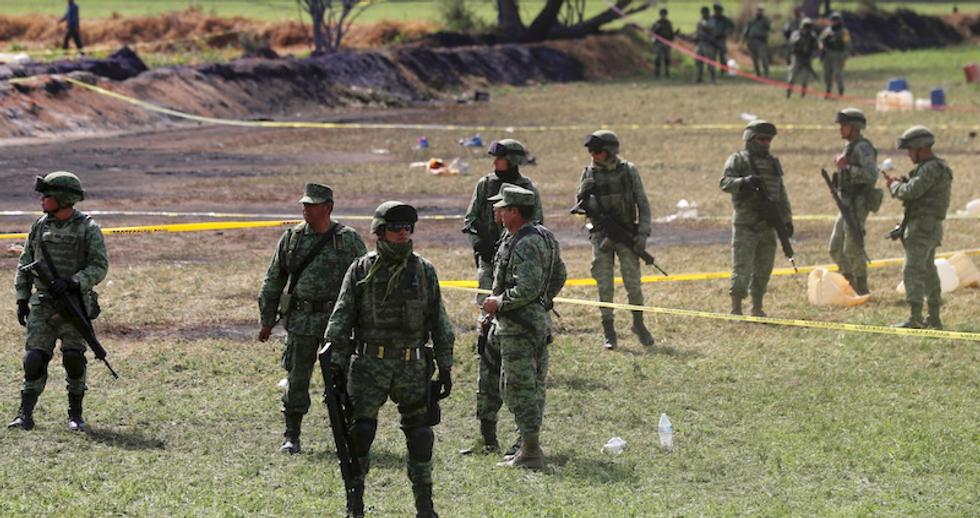 Mexico fuel pipeline blast kills 71 -- witnesses describe horror