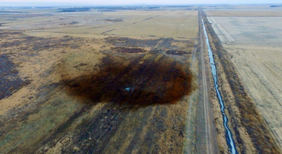 TransCanada excavates damaged part of leaked pipeline: South Dakota official
