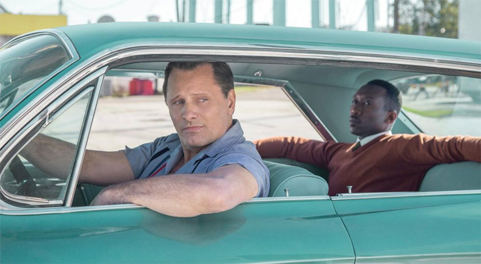'Green Book' boosts Oscar odds with big win at Producers Guild Awards