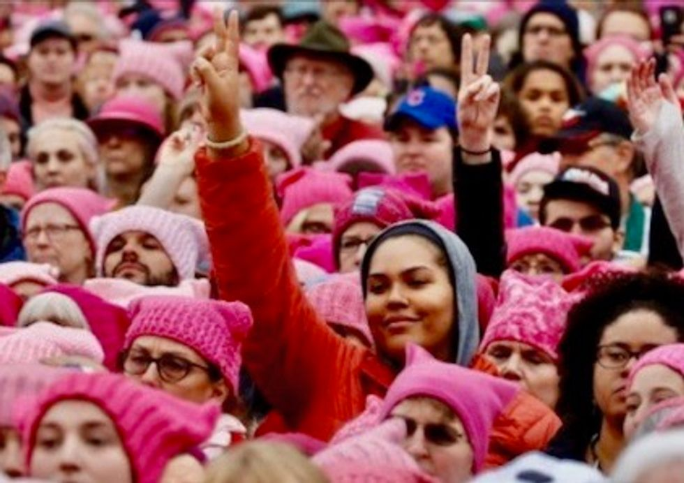 Women to march in hundreds of US cities for third straight year