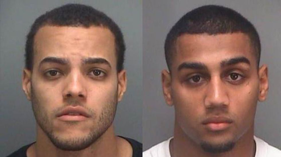 FL pot thieves arrested while driving away with marijuana plants sticking out car window