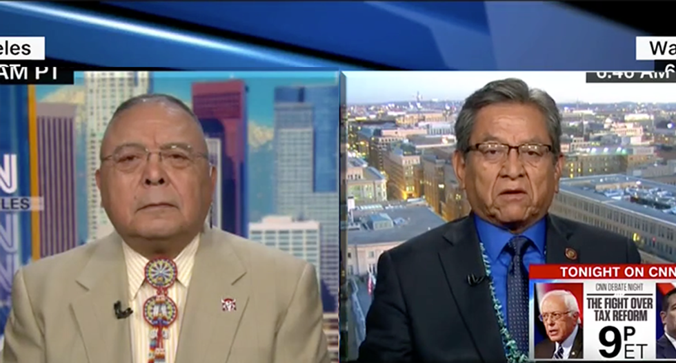 Native American activist says Trump slur was 'staged': 'He knew what he was doing'