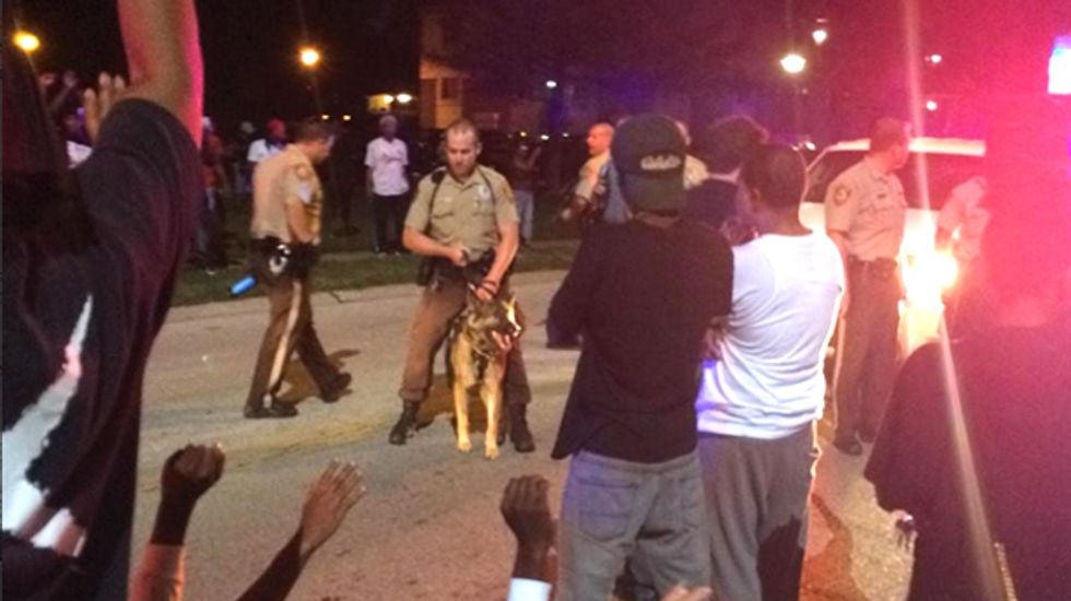 Disgusted public takes to Twitter after shooting of unarmed St. Louis black teenager