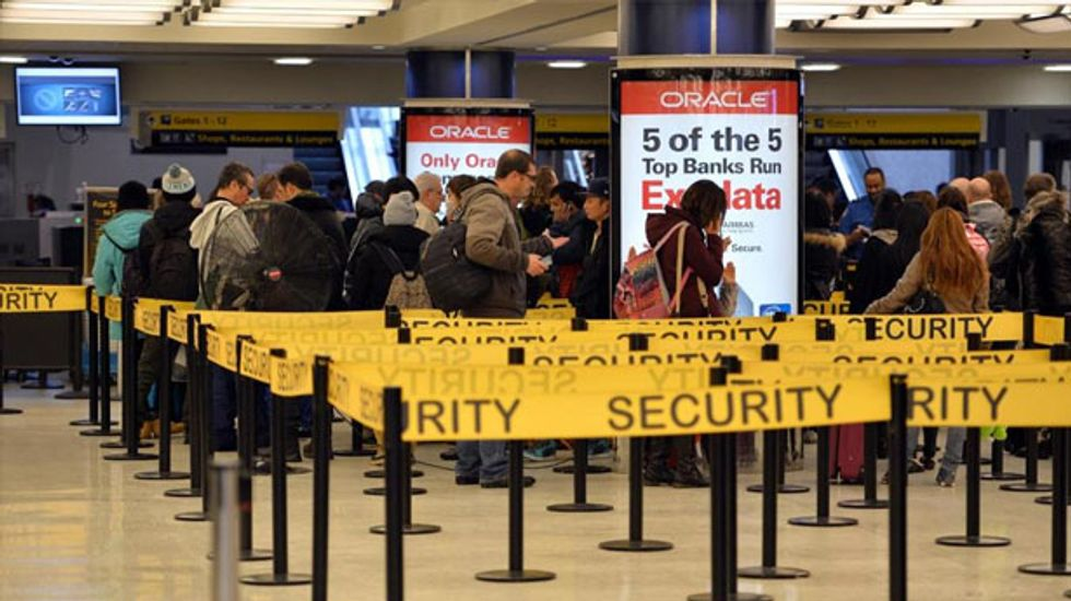 New York man arrested at airport after tweeting allegiance to Islamic State jihadists