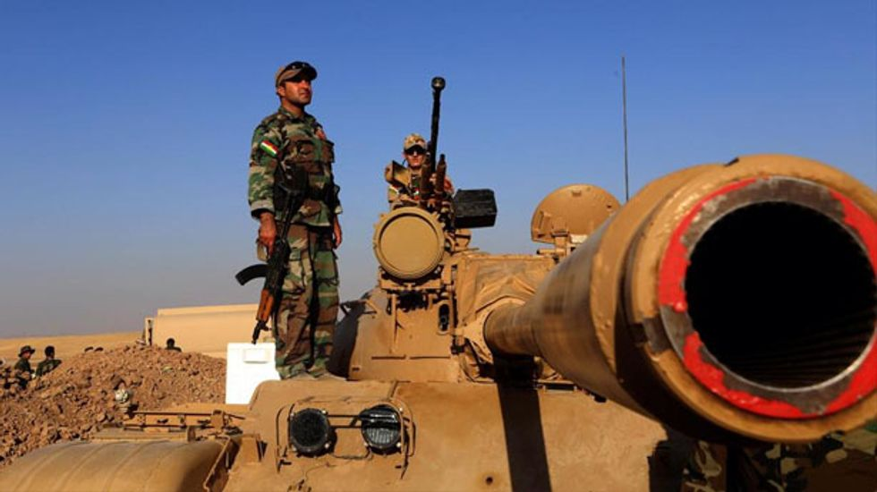 US shipping arms to Iraqi Kurds to fight Islamic State militants: official
