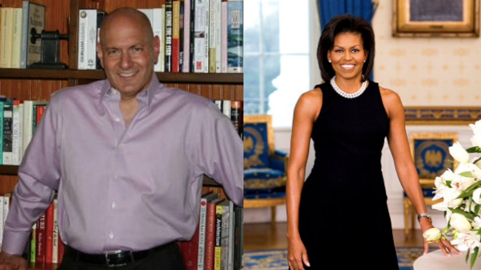 """Fox doctor who called Michelle Obama Fat should read his own book, """"Projection"""""""