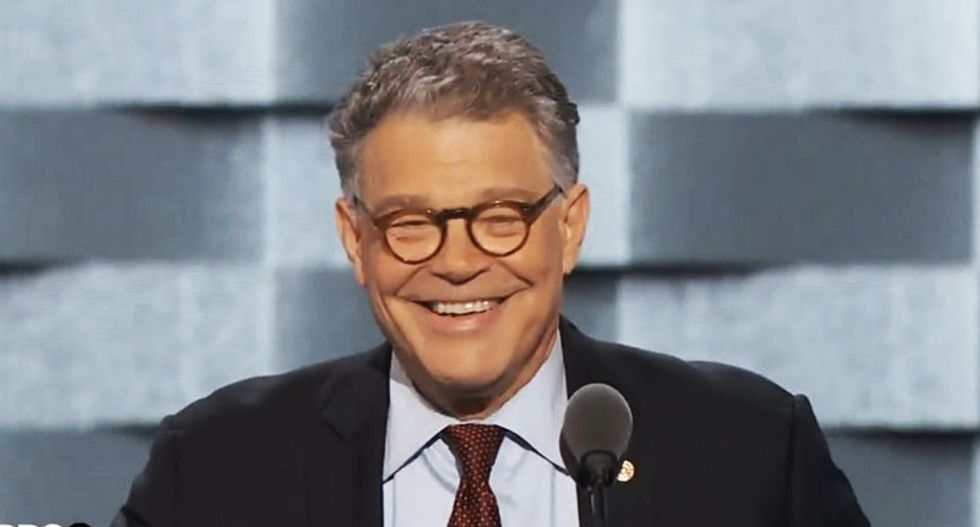 WATCH: 'Trump U' graduate Al Franken brutalizes GOP nominee in hilarious convention speech
