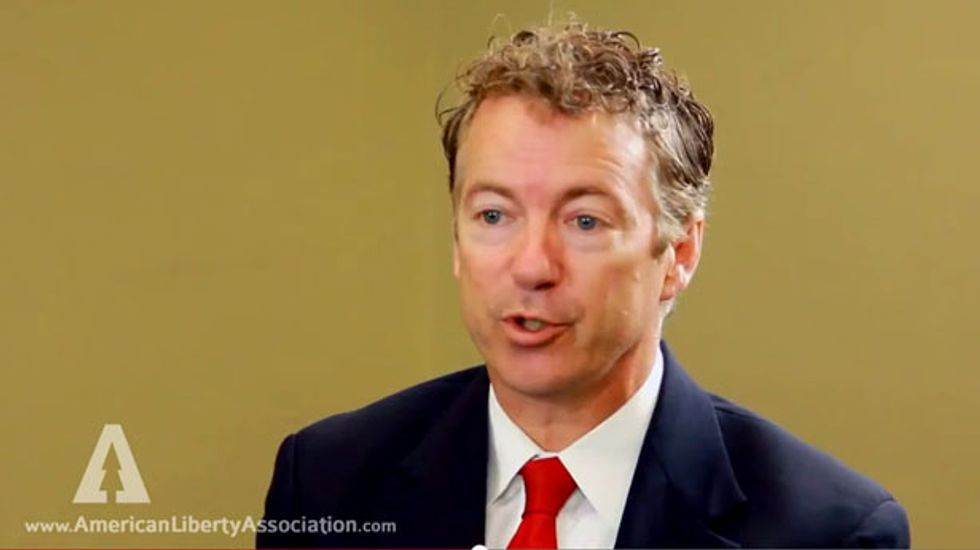 Rand Paul on abortion: Civilization will collapse unless fetuses get personhood rights