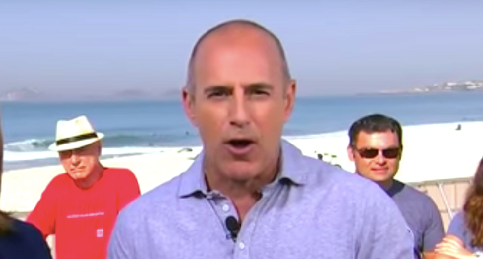 Matt Lauer accused of sexually assaulting NBC staffer at Olympics: report