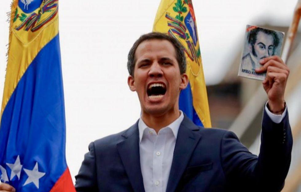 U.S. says it will exert economic muscle to support Venezuela's Guaido