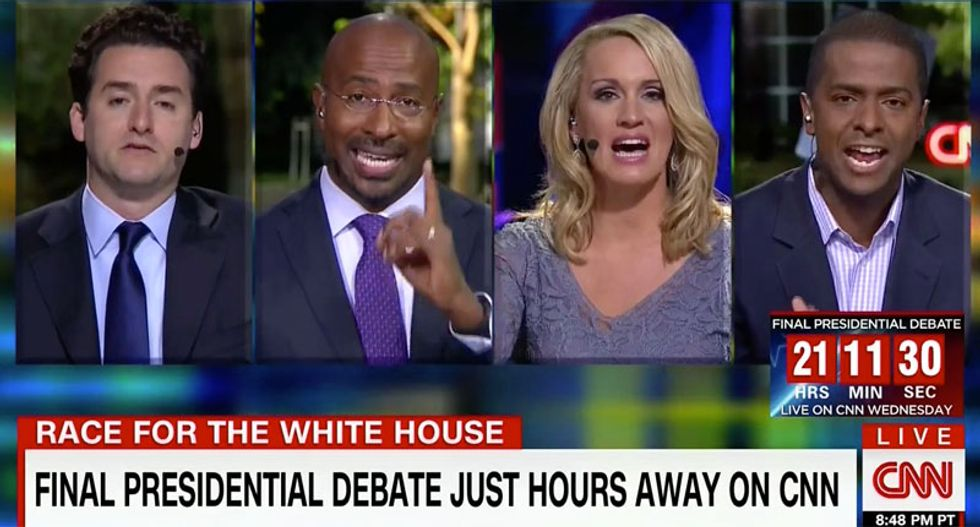 CNN panel blows up on Scottie Nell Hughes for defending Trump gawking at naked teen pageant contestants