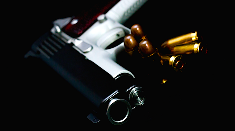 Man accidentally kills babysitter after stopping home to check on kids and repair his gun