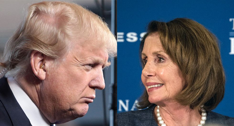 Trump reduced to playing 'survival politics' to get to 2020 election after Pelosi humiliated him: GOP strategist